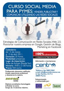 Curso Social Media para PYMES - VERSO FORMACIÓN