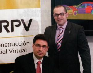 Cristóbal García y José Ramón Orenes, de RPV - Reconstrucción Pericial Virtual