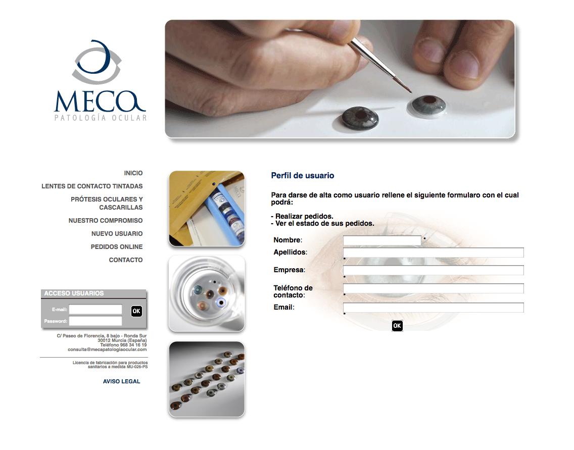Meca Patología Ocular