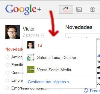 Cómo abrir tu página de negocio o marca en Google+